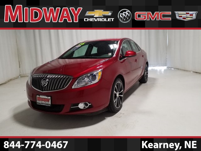 Certified Pre Owned 2016 Buick Verano Sport Touring Group