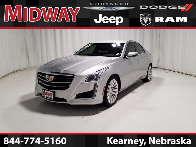 Certified Pre-Owned 2015 Cadillac CTS 2.0L Turbo Luxury
