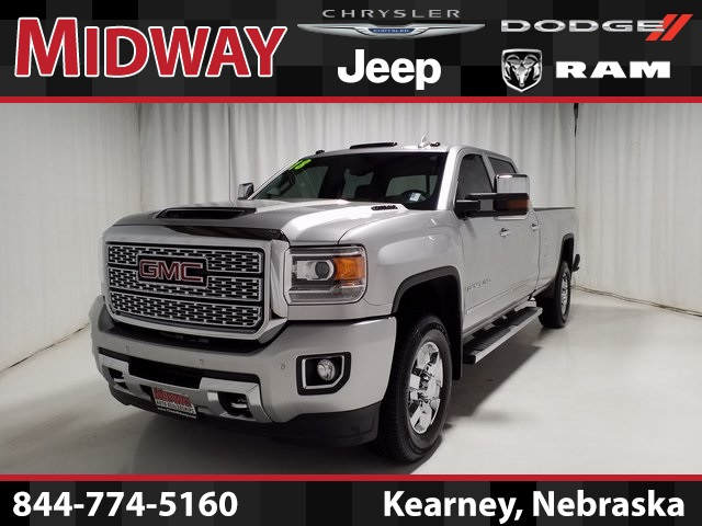 Pre Owned 2018 Gmc Sierra 3500hd Denali 4d Crew Cab In Kearney