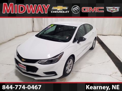 Certified Pre-Owned 2016 Chevrolet Cruze LT